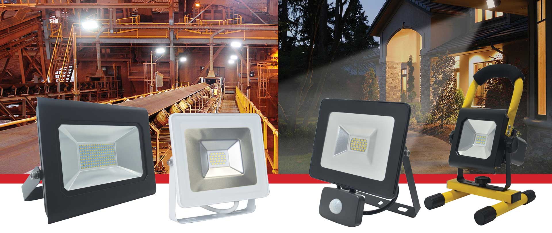 Prelux Prowler LED Floodlights