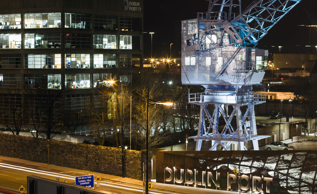 ECI Lighting - Dublin Port Regeneration Project