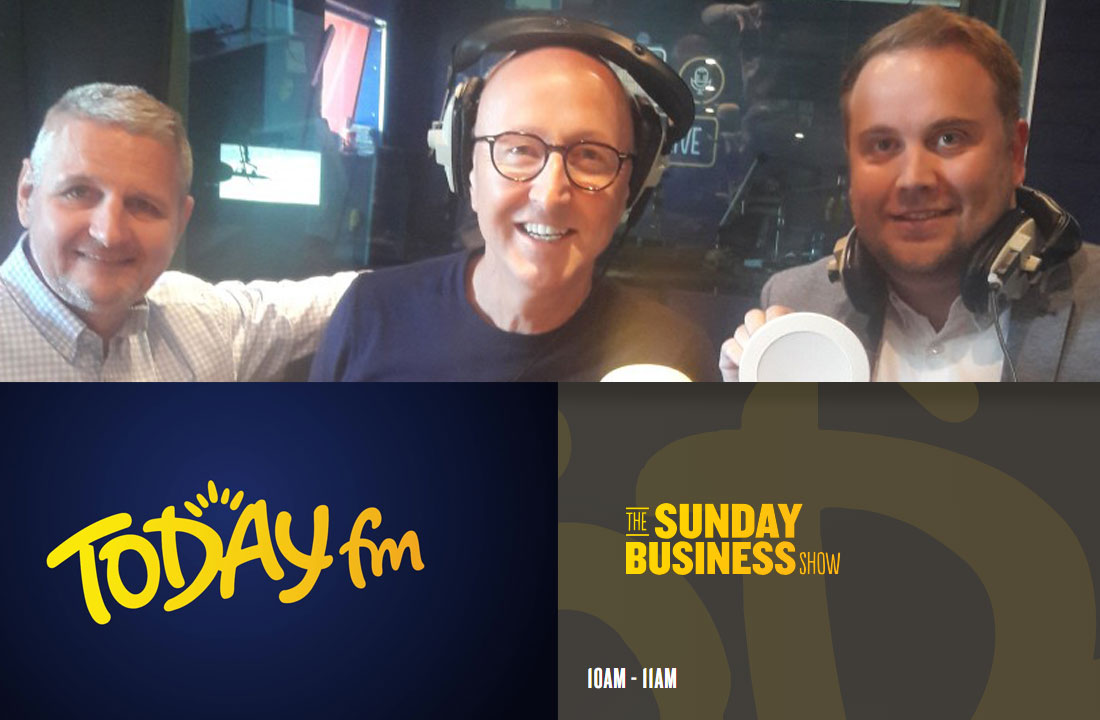 Lighting as a Service on Today FM Sunday Business Show