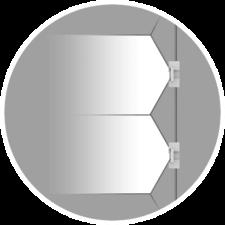 Tension LED System Uniform Light