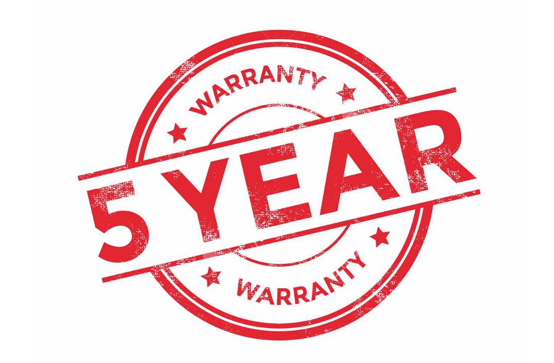 Lighting as a Service Blog 5 Year Warranty