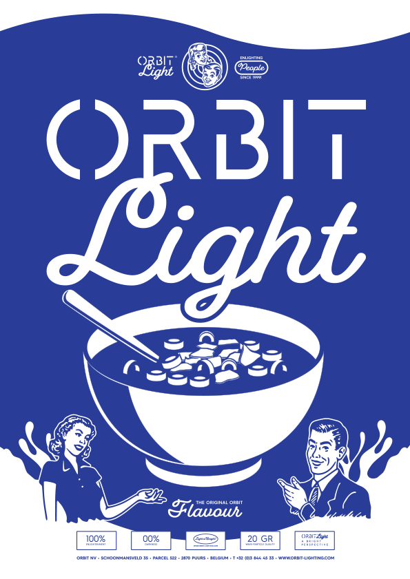 Orbit 2019 Lighting Catalogue Cover