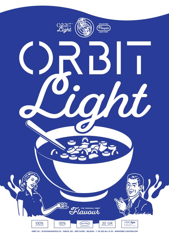 Orbit 2019 Lighting Catalogue Cover