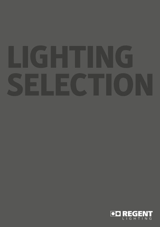Regent Lighting Catalogue 2019