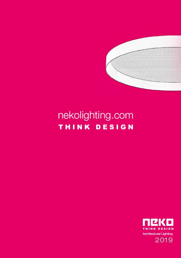 Neko Architectural Lighting 2019 Catalogue