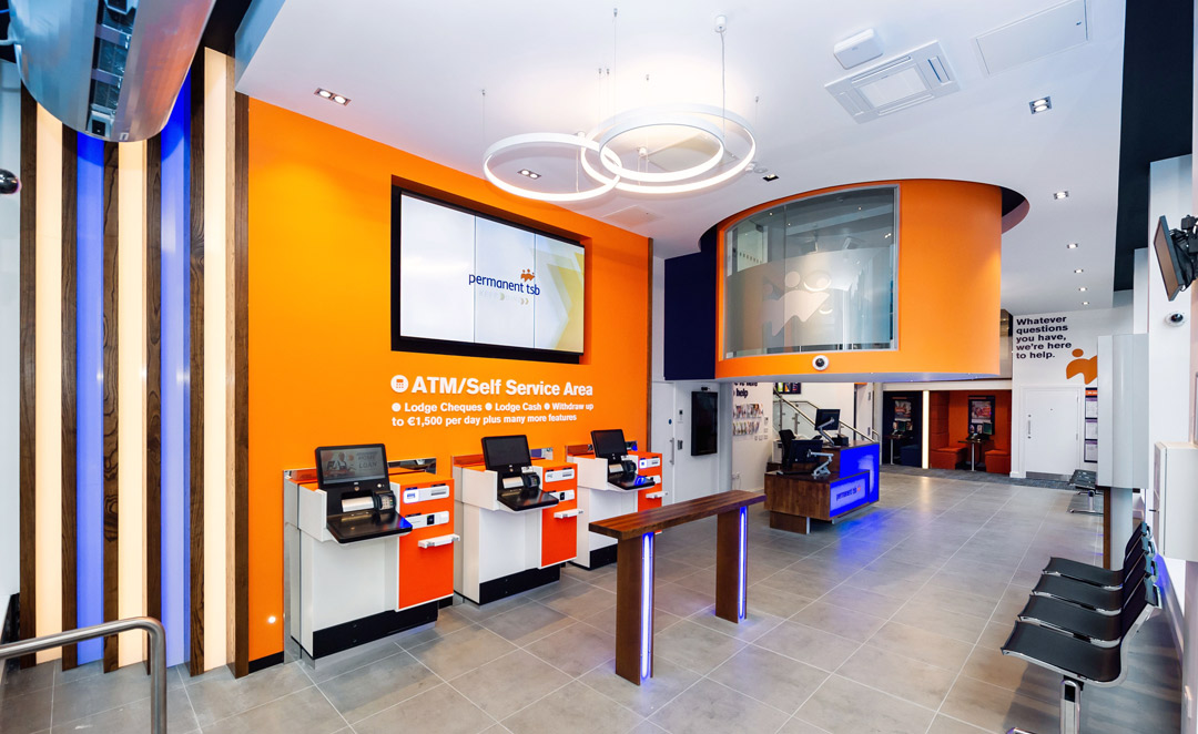 Self Service Area in Permanent TSB Grafton Street