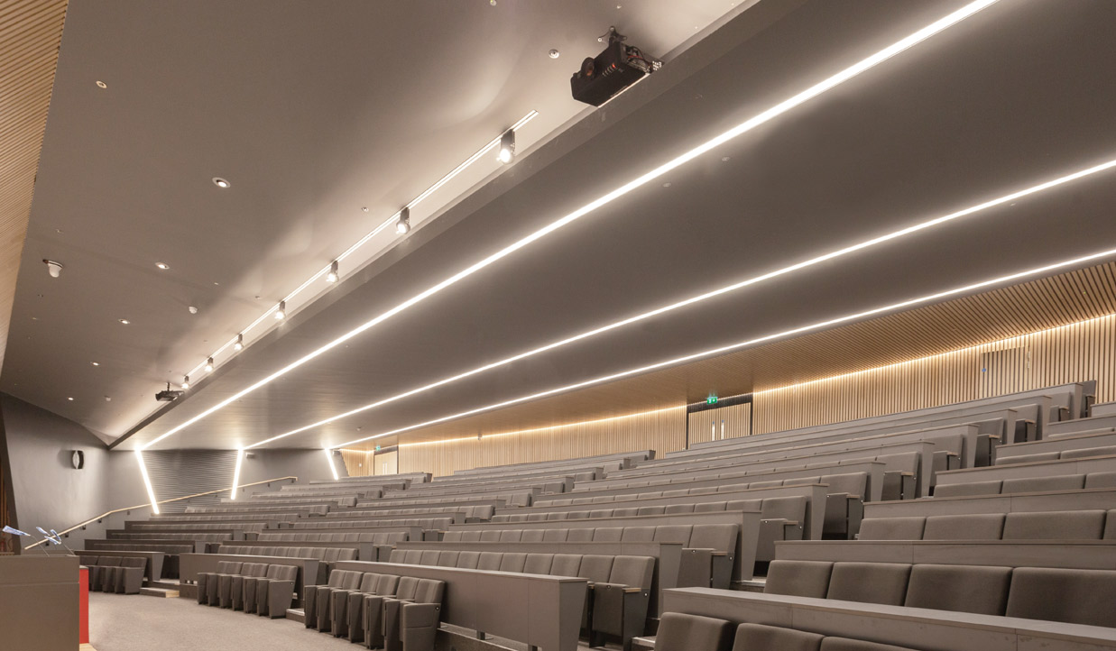 RCSI Auditorium Regent LED Profile Lighting