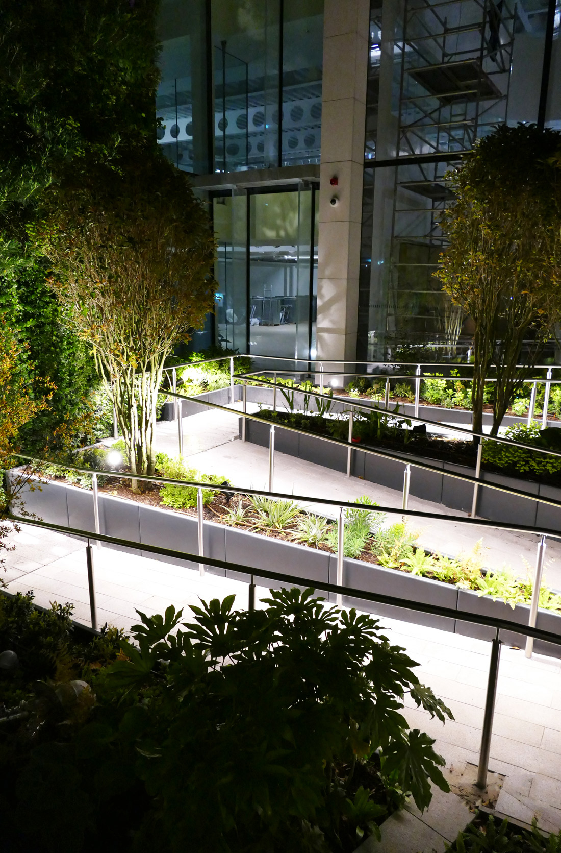 Liniled Handrail safe lighting solution for wheelchair access