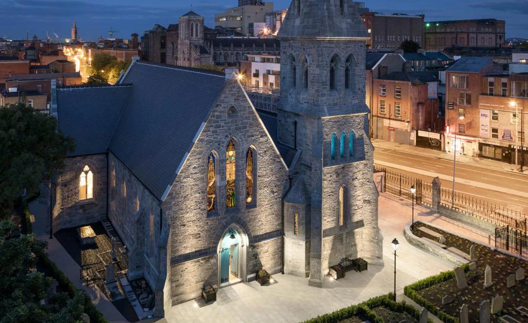 Pearse Lyons Distillery Lighting Project