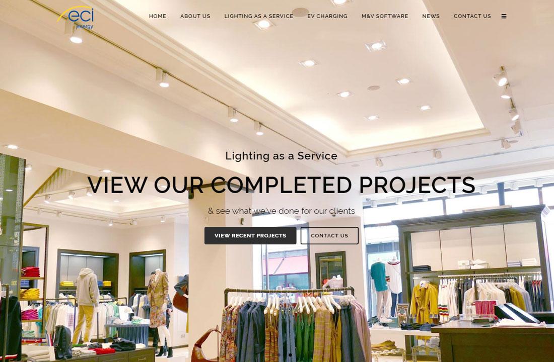 ECI Energy New Website