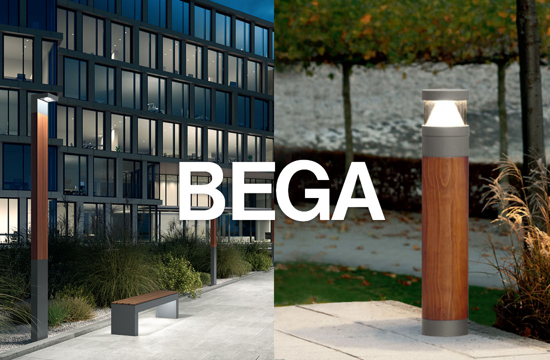 Bega 2020 Wooden Lighting Range