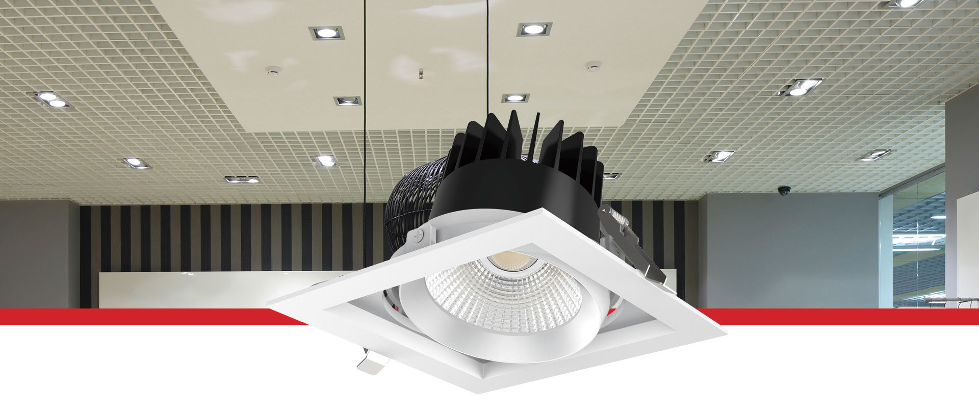 Verona Modular Tiltable Downlight