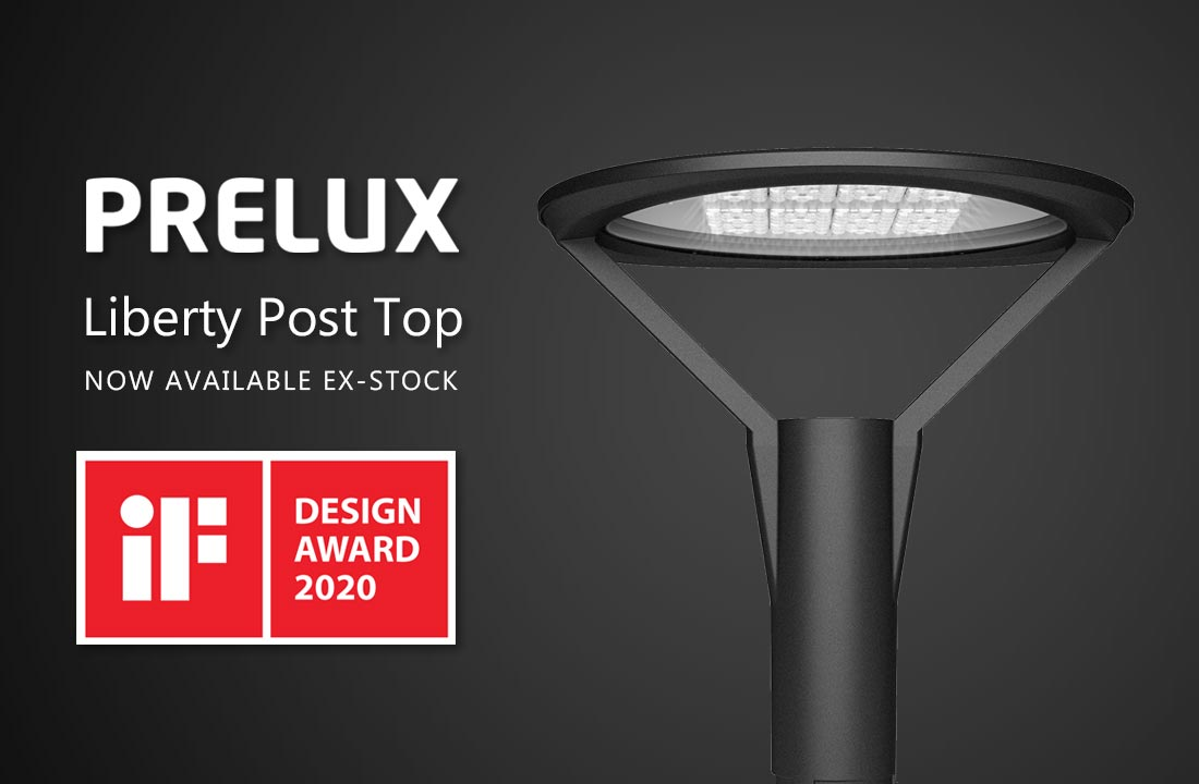 Prelux Liberty LED Post Top