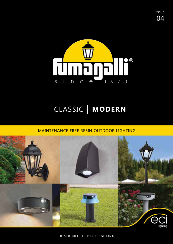 Fumagalli 2021 Catalogue from ECI Lighting