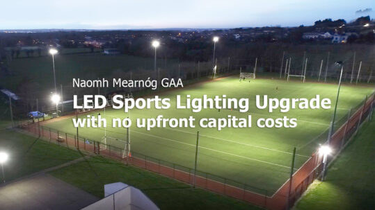GAA Sports Lighting Upgrade - Lighting as a Service