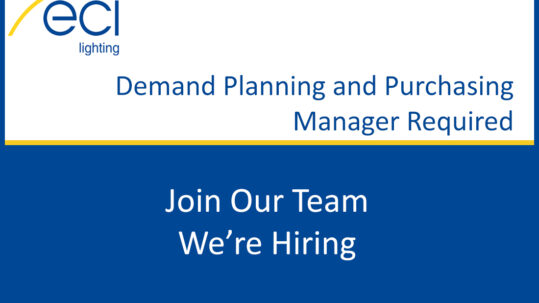 Demand Planning and Purchasing Manager Required