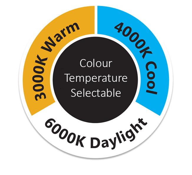 Oslo Multi Wattage Colour Temperatures
