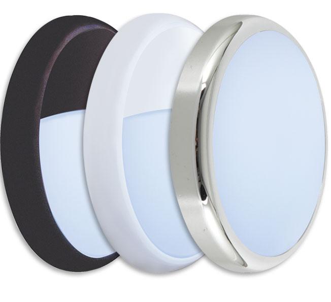 Prelux Oslo Multi Wattage LED Bulkhead Bezel Accessories