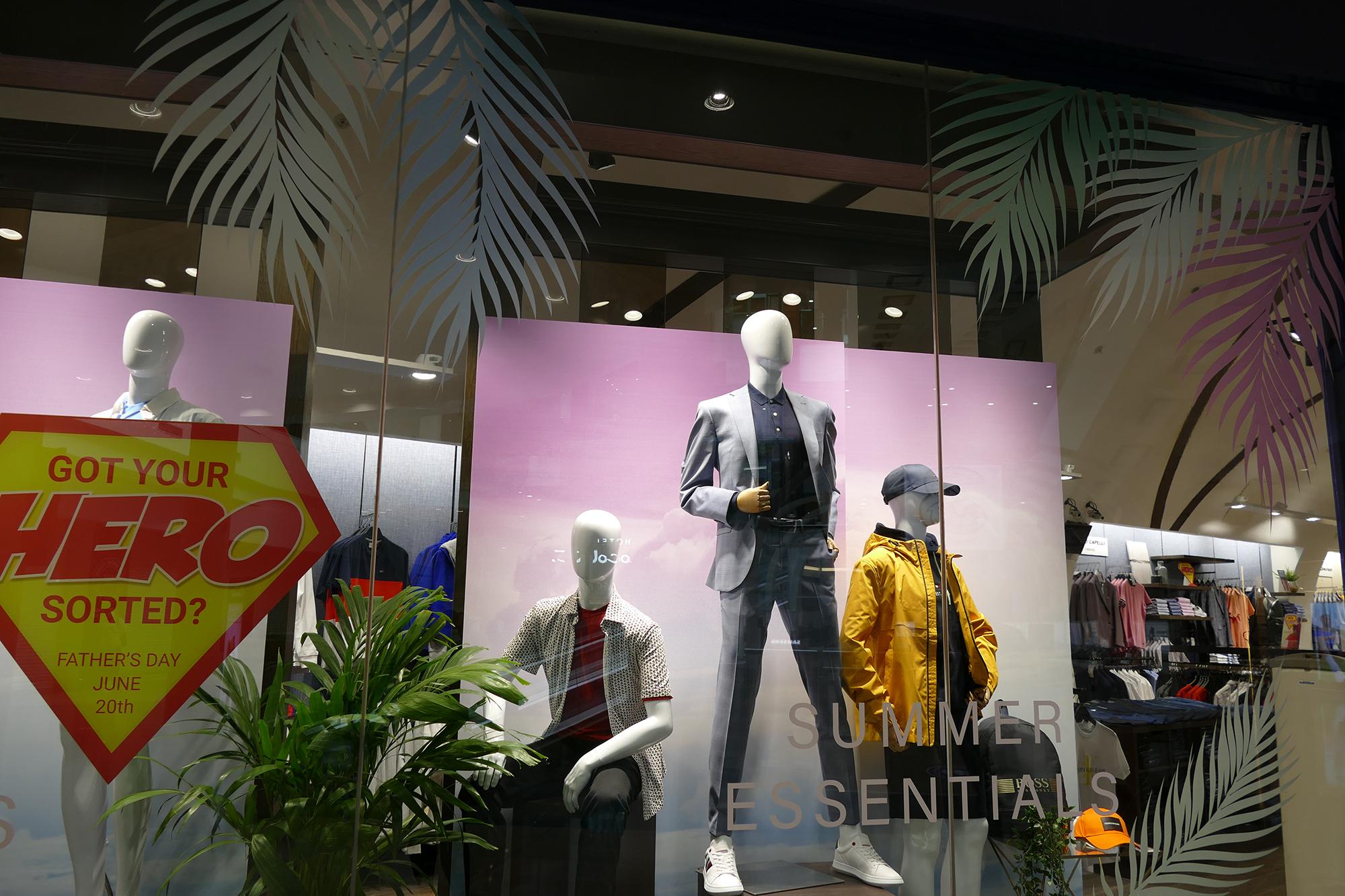 Best Menswear - Retail Lighting