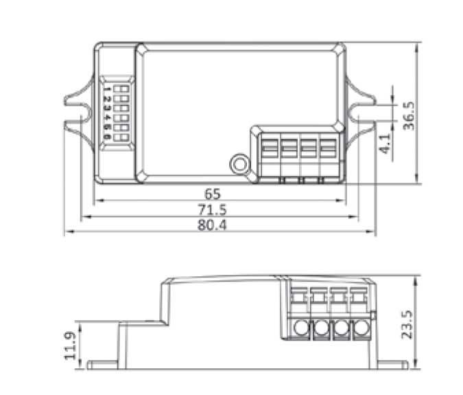 Microwave Kit Dimensions